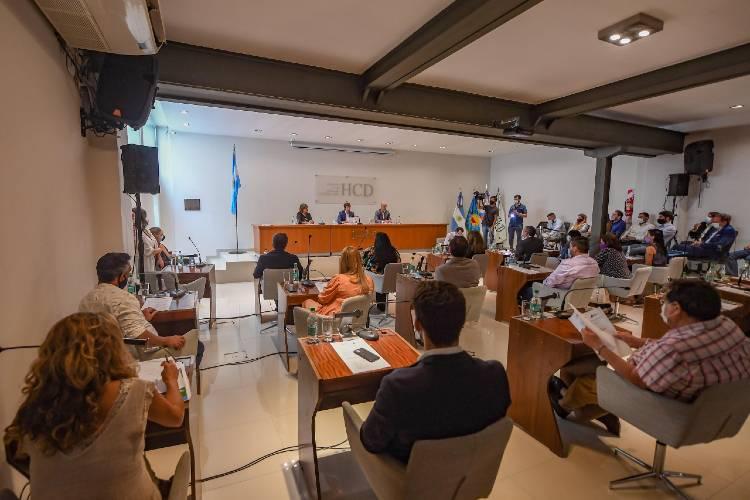 Juan Andreotti inició las sesiones del HCD de San Fernando