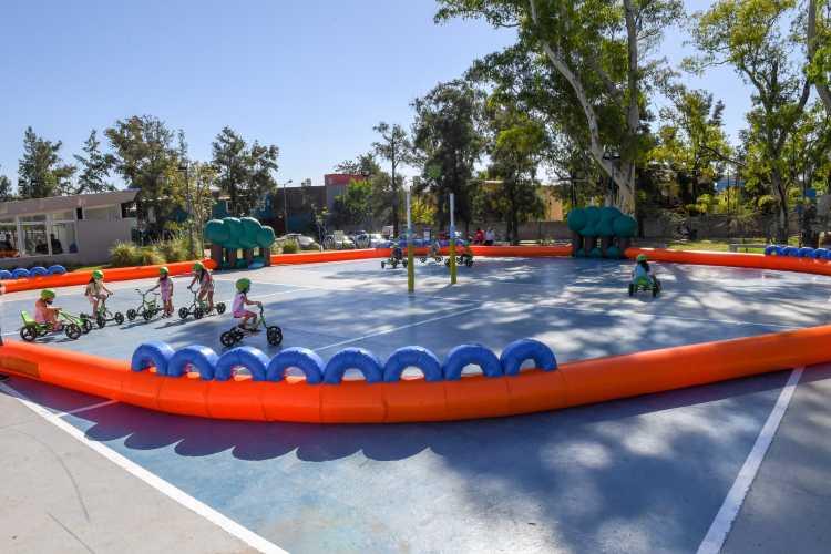 San Fernando compartió un fin de semana con juegos y deportes en el Parque del Bicentenario