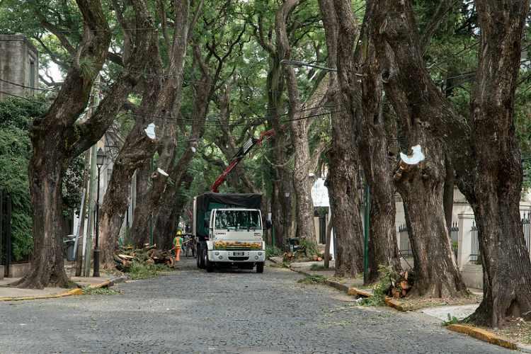 Comenzó la puesta en valor del casco histórico de San Isidro
