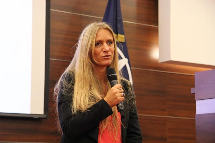 La Directora Nacional de Migraciones, Florencia Carignano