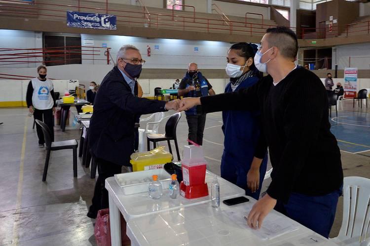 En Tigre, ya se vacunaron 15.000 vecinos contra el coronavirus
