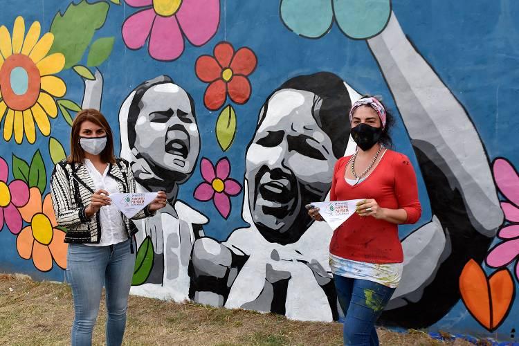 impulsan un nuevo mural participativo en El Talar