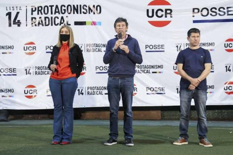 """Posse, sobre las internas del radicalismo bonaerense: """"es un empate técnico"""""""
