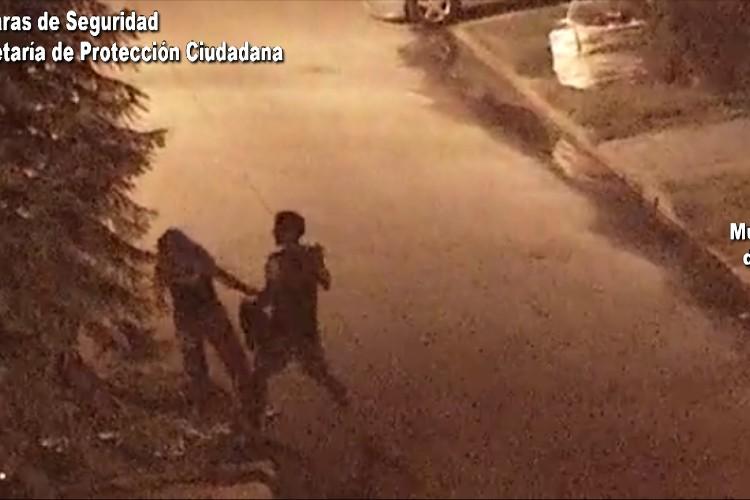Violento golpeó brutalmente a su pareja en el rostro: el COT captó la escena y lo detuvo