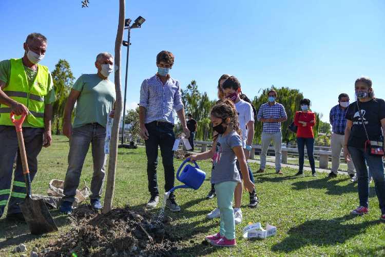"""San Fernando adhirió a la campaña """"Plantamos Memoria"""" por el Día de la Memoria, Verdad y Justicia"""
