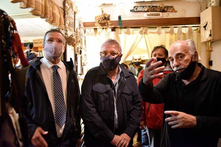 Julio Zamora y Tristán Bauer visitaron la casa donde vivió Rodolfo Walsh y acordaron impulsar actividades para difundir su obra