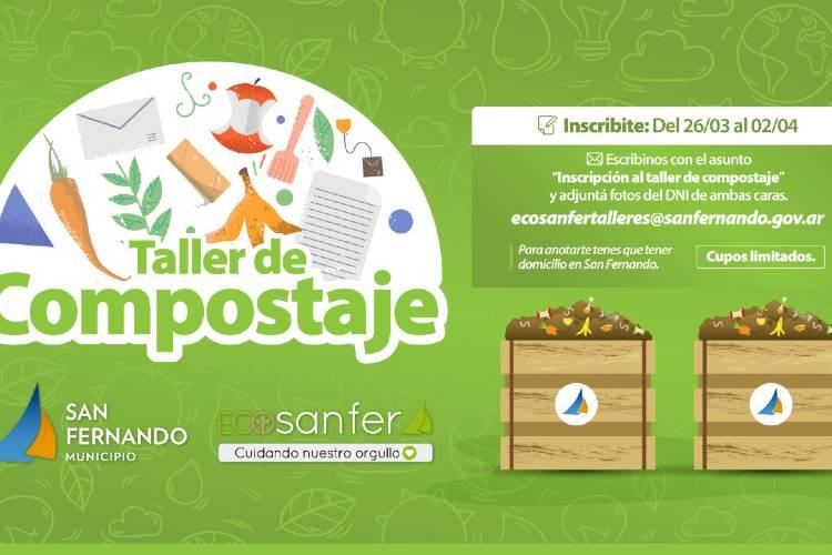 """""""Eco Sanfer"""" abrió la inscripción de un nuevo taller para aprender a hacer compost"""