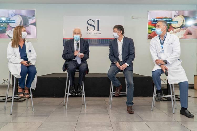 San Isidro lanzó el servicio de nutrición para la comunidad con el Dr. Cormillot