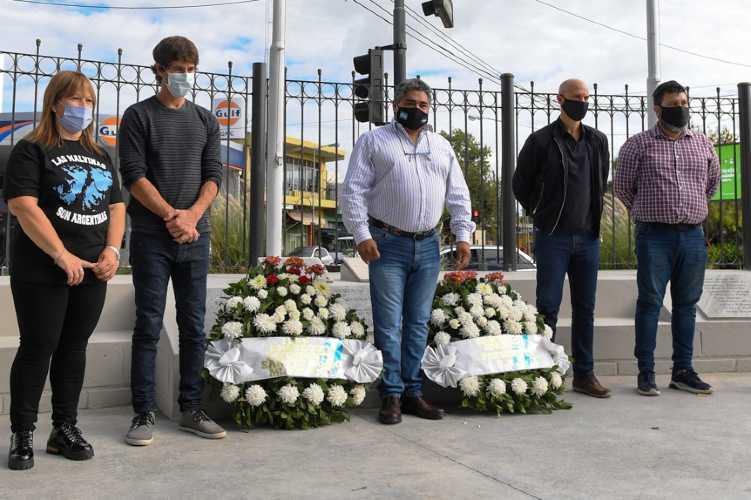 Juan Andreotti compartió un homenaje a los Ex Combatientes de Malvinas