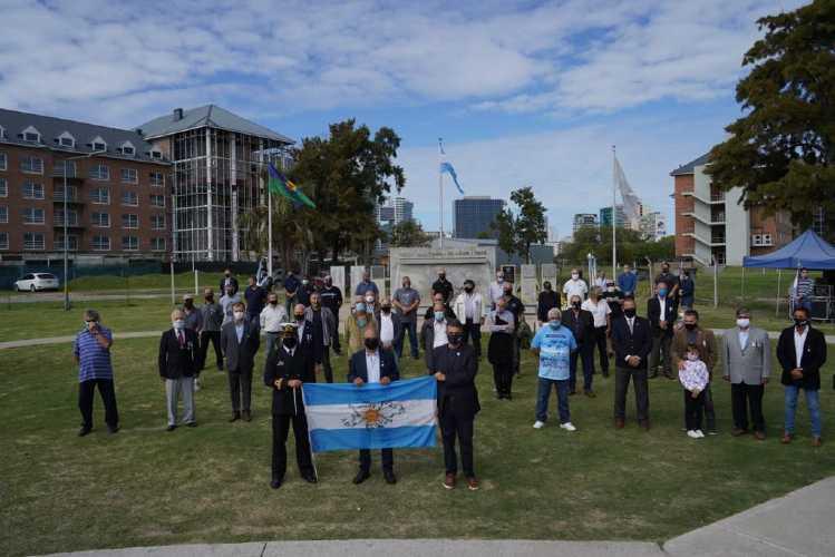 Vicente López conmemoró la gesta heroica de Malvinas