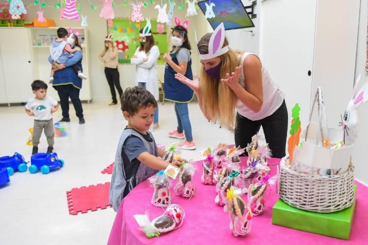 Jardines Maternales y Centros Educativos Municipales de San Fernando celebraron las Pascuas