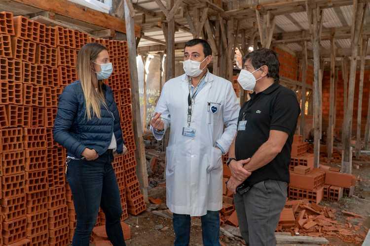San Isidro: construyen un nuevo centro de salud en Villa Adelina