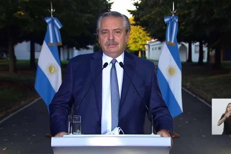 """Alberto Fernández destacó el """"alto acatamiento"""" a las medidas y dice que la mayoría percibe dimensión del problema"""