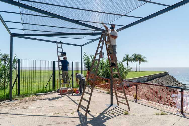 San Isidro renueva el paseo público costero