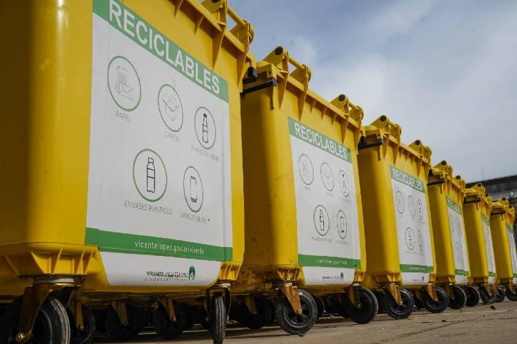 Vicente López suma 180 contenedores para reciclado