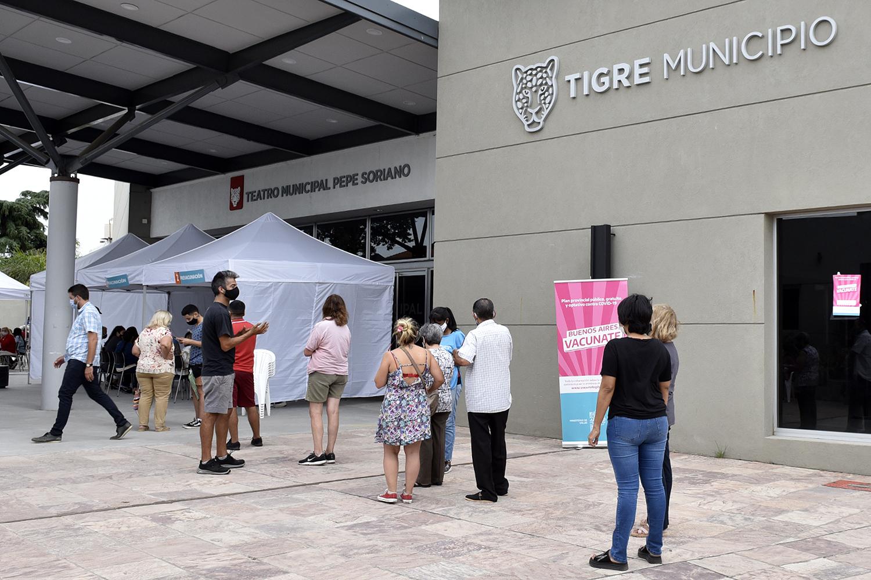 En Tigre más de 28 mil vecinos recibieron la vacuna contra el COVID-19