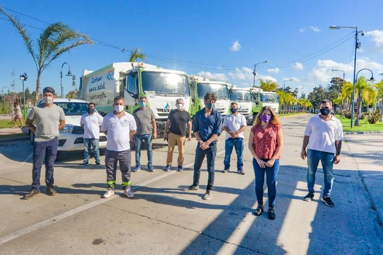 San Fernando incorporó nuevos camiones compactadores