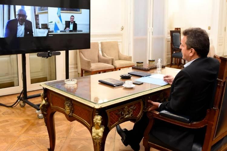 Sergio Massa mantuvo una reunión con el Presidente de la Comisión de Relaciones Exteriores del Congreso estadounidense