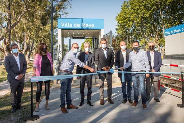 Quedó habilitada la renovada estación de Villa de Mayo de la Línea Belgrano Norte