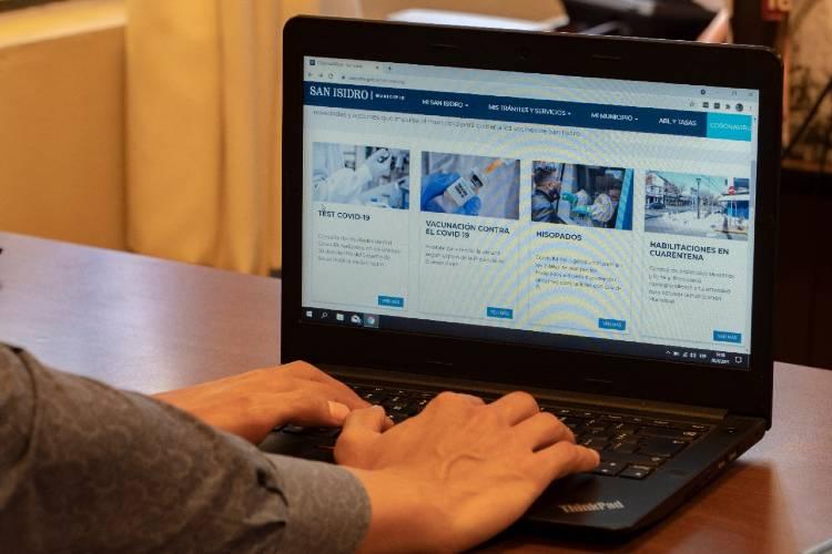 En San Isidro se pueden consultar resultados de test Covid-19 en la web del municipio