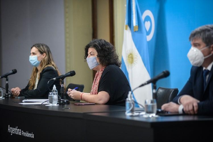 """Vizzotti:""""Necesitamos disminuir la circulación de personas para disminuir la transmisión del virus"""", señaló la ministra de Salud"""