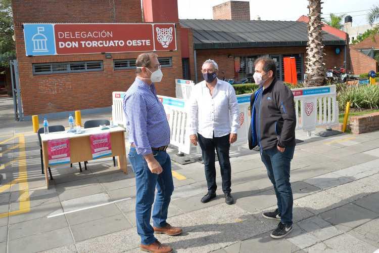 El Municipio de Tigre suma un nuevo punto de vacunación contra el COVID-19 en Don Torcuato
