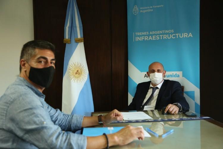 Convenio entre Trenes Argentinos y la Comunidad Mapuche para uso de terrenos ferroviarios