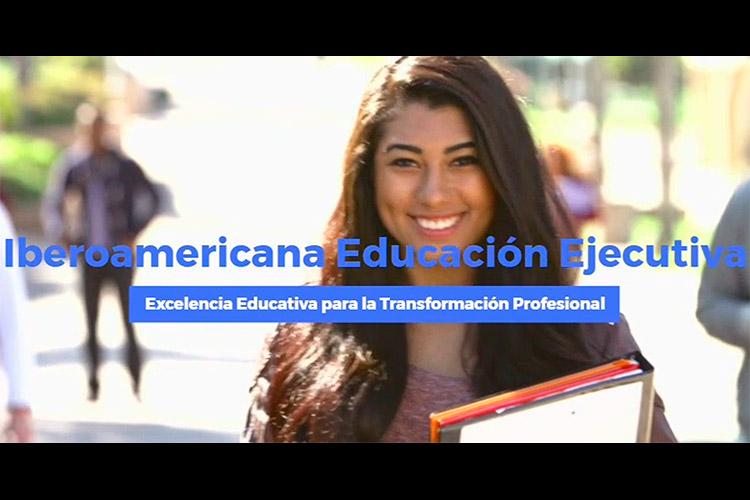 IberoAmericana excelencia educativa para la transformación profesional.