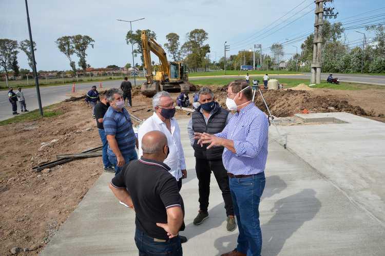 En Benavídez, el Municipio construye una nueva posta sanitaria del Sistema de Emergencia Tigre