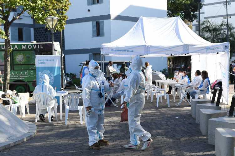 El Municipio de San Fernando llevó adelante un nuevo operativo DetectAR en el barrio Infico