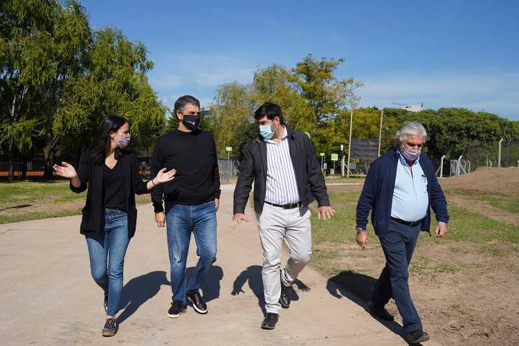 Avanza la renovación integral del Paseo de los Vientos en Vicente López