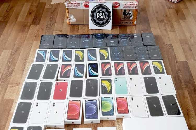 La PSA desarticuló una banda que vendía ilegalmente celulares