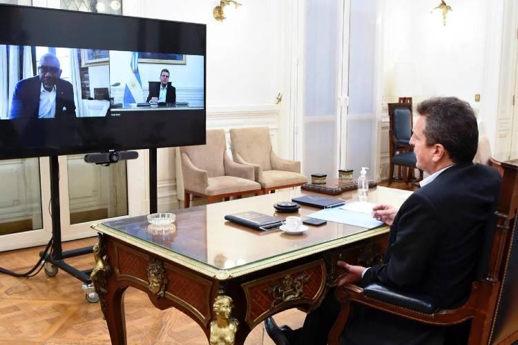 Sergio Massa agradeció al Presidente de la Comisión de Relaciones Exteriores de EE.UU. por el apoyo ante el FMI
