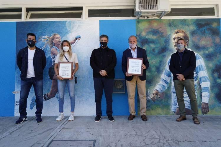 Jorge macri, Delfina Merino, Hugo Porta, Gabino Tapia