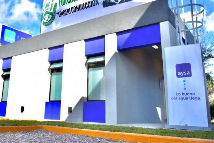 Malena Galmarini inauguró nuevas instalaciones del Rebombeo El Cruce en Florencio Varela