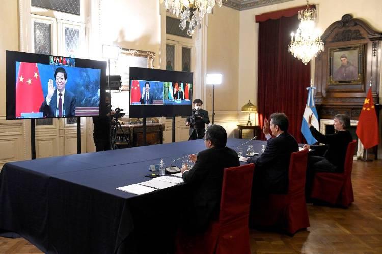Fuerte respaldo del parlamento Chino a Argentina frente a FMI