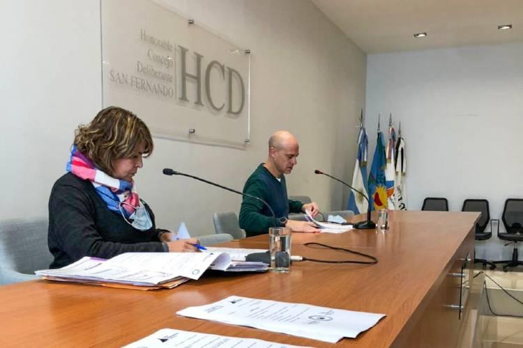 El Concejo Deliberante de San Fernando aprobó la Rendición de Cuentas 2020