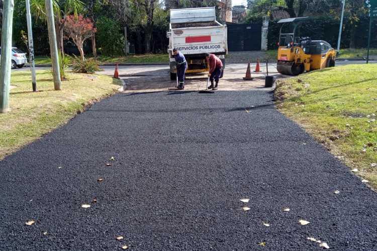 Municipio de Tigre: continúan los trabajos de mantenimiento integral en todo el distrito