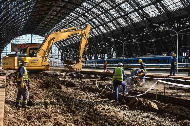 Línea Mitre: comienza la obra para renovar el ingreso de trenes a Retiro y habrá modificaciones en el servicio