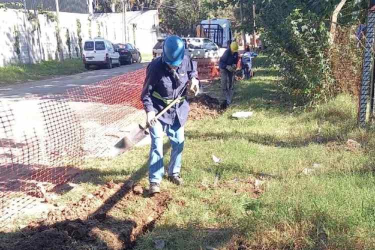 Tigre avanza con la construcción de una nueva red de gas en General Pacheco