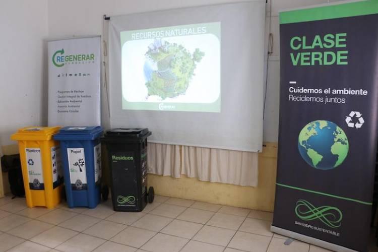 Los colegios de San Isidro ya pueden inscribirse en el programa de educación ambiental