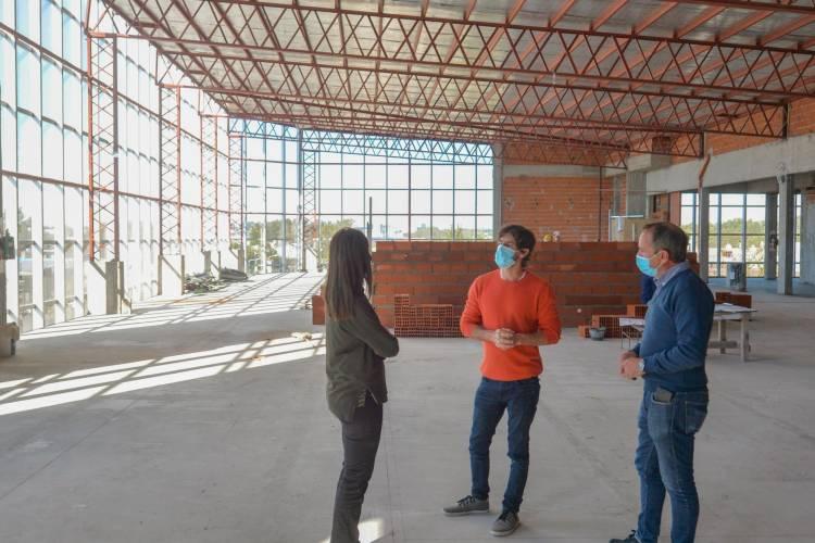 Avanza la obra de ampliación del Hospital Municipal de San Fernando