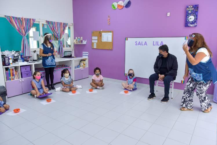 Vicente López anunció nuevos subsidios para jardines maternales privados y los exime de tasas