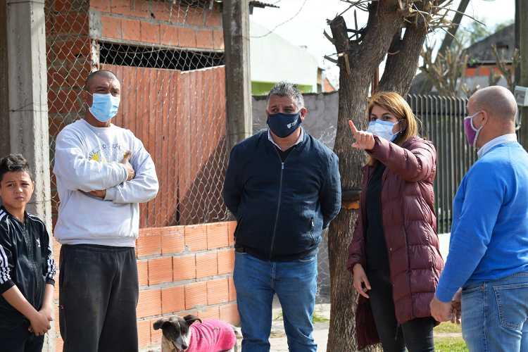 Tigre continúa con el plan de asfaltos 2021 en Benavídez