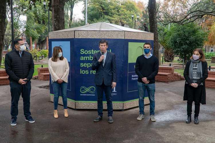 San Isidro incorporó un nuevo ecopunto para separar residuos en Martínez