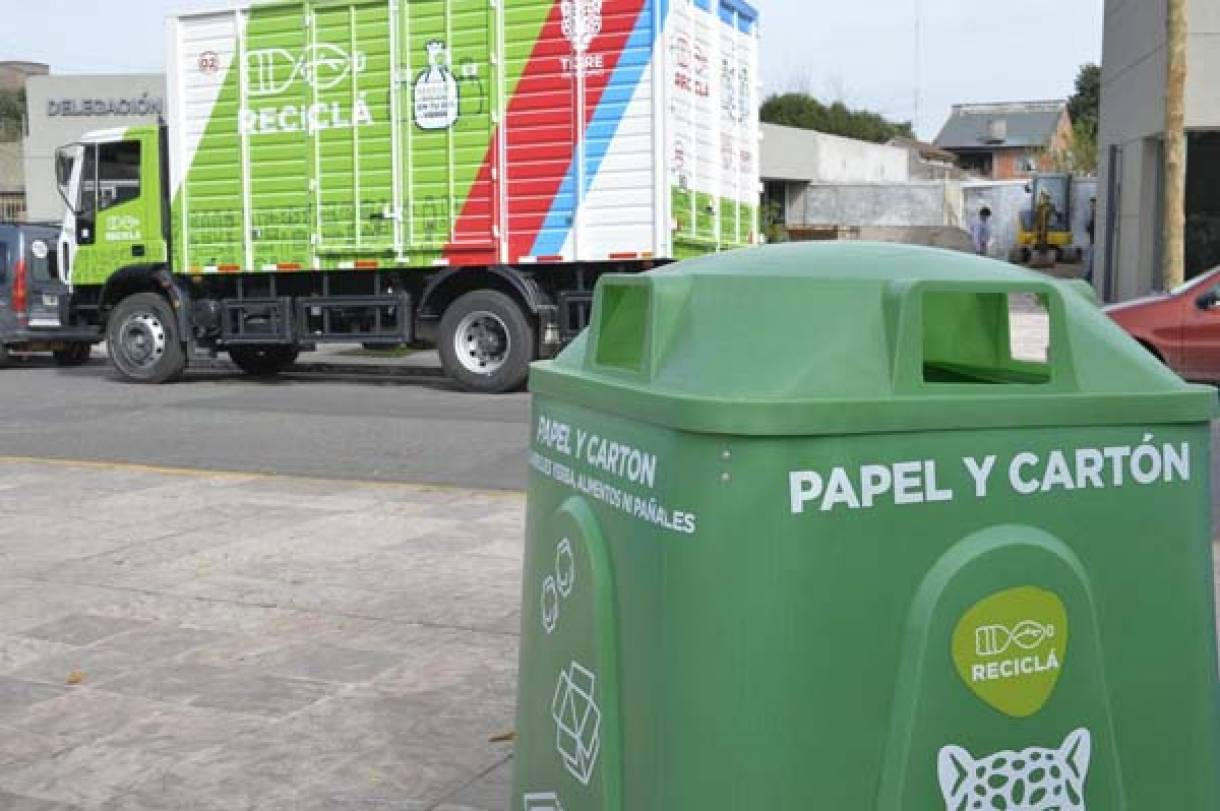 El programa Reciclá de Tigre continúa generando conciencia ambiental en la comunidad a dos años de su creación