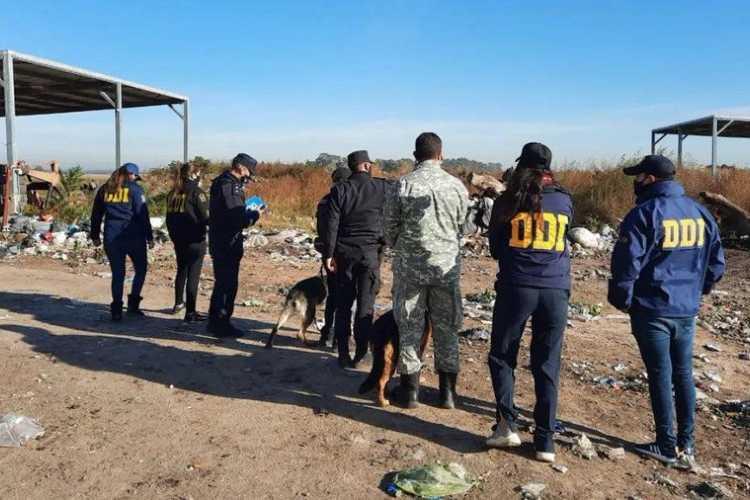 Desaparición de Tehuel: realizan nuevos rastrillajes en el Ceamse