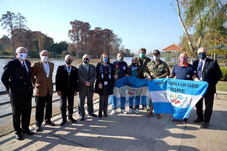 Tigre conmemoró el 39º aniversario del Día de la Máxima Resistencia en Malvinas