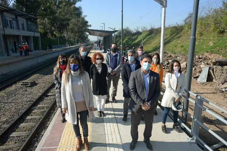 Avanzan las obras las obras de renovación en la estación Montes del Belgrano Norte