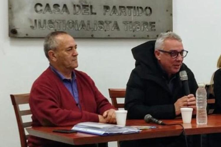 Julio Zamora reasumió la presidencia del PJ Tigre